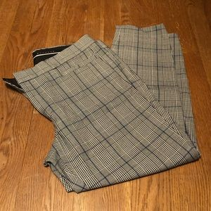Banana Republic Plaid Sloan Fit Pants - 12 Petite